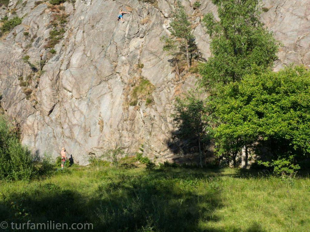 klatrefelt på tjörn sør i bohuslän