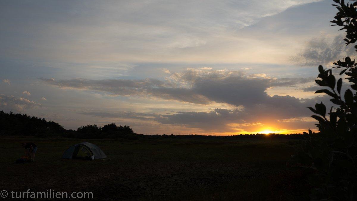 På telttur i Danmark | Turfamilien