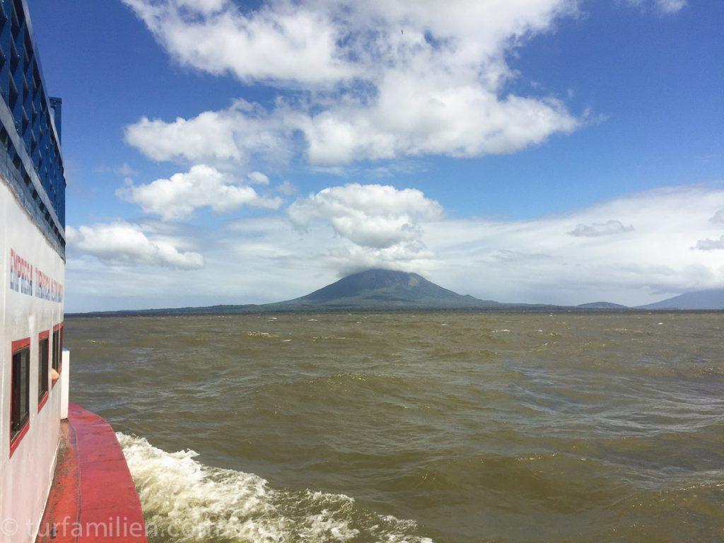 båt til ometepe nicaragua