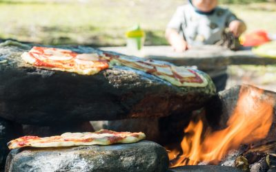 Verdens beste turmat – Pizza på bålet