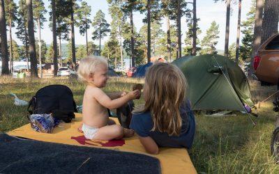 Badeland og camping på Leksand Sommarland