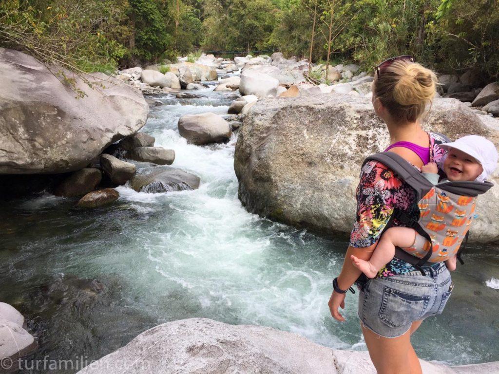 riktig utstyr til tur med barn i costa rica
