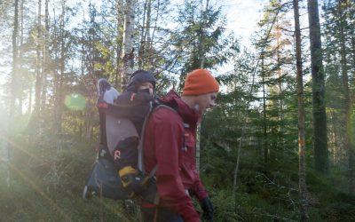 Melkeveien, livet og telttur på Tio Sjöars Led