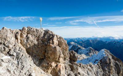 Letteste vei til Zugspitze – Tysklands høyeste fjell