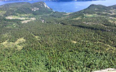 Via Lara på Hægefjell – en rå klatreopplevelse!