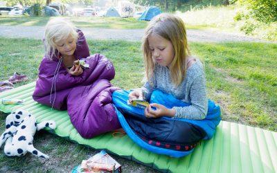 På tur med telt og sovepose i Europa