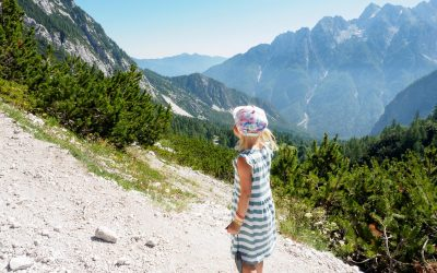 Fjelltur i De juliske Alper: Fra Vršič Pass til Slemenova Špica
